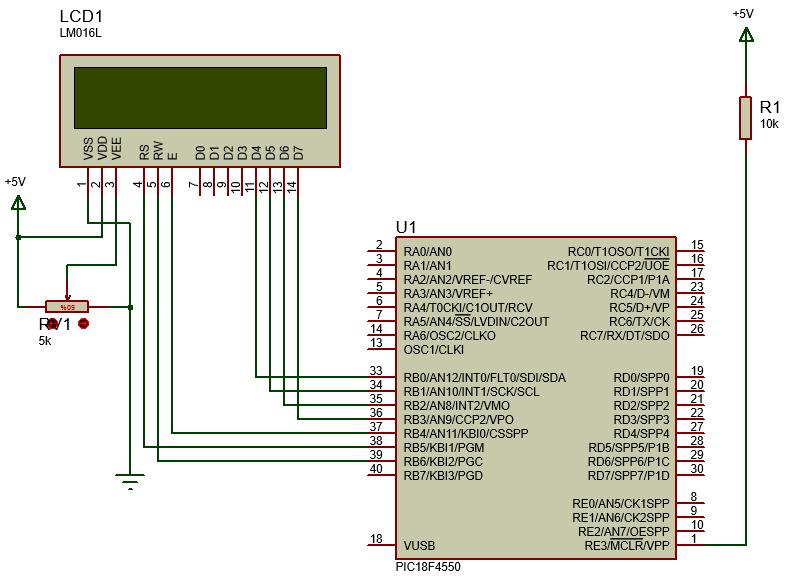01 librer a xlcd para el manejo de displays lcd gu as para principiantes - Puerto de conexion remota ...